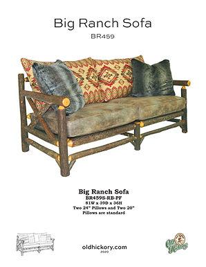 Big Ranch Sofa - BR459