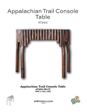 Appalachian Trail Console Table - AT203
