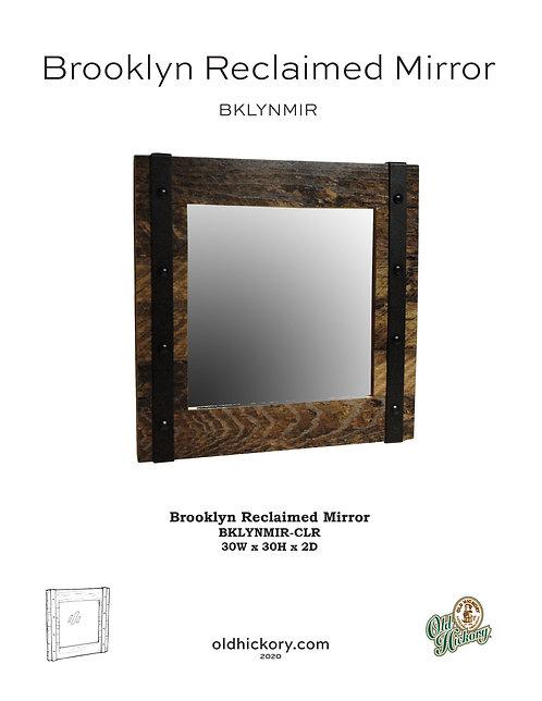 Brooklyn Reclaimed Mirror - BKLYNMIR