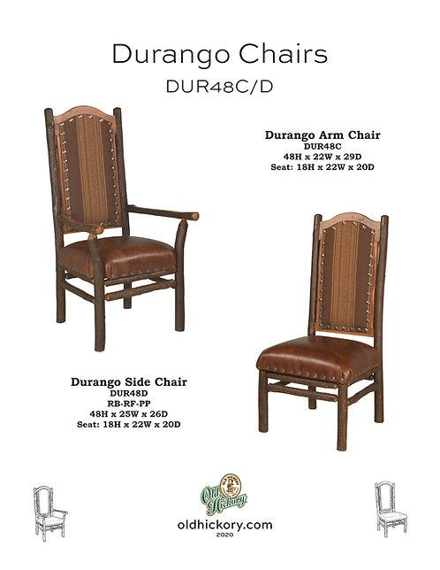 Durango Dining Chairs - DUR48C/DUR48D