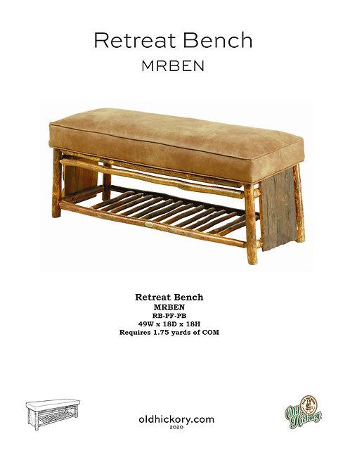 Retreat Bench - MRBEN