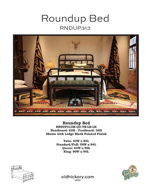 Roundup Bed - RNDUP313