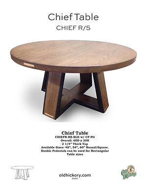 Chief Table - CHIEF R/S