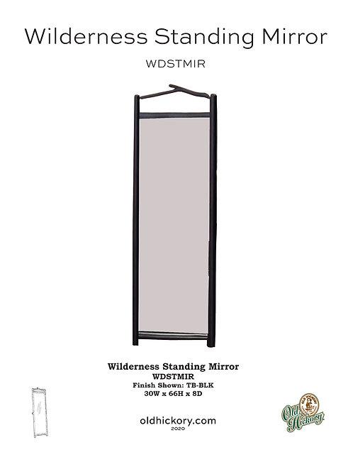 Wilderness Standing Mirror - WDSTMIR