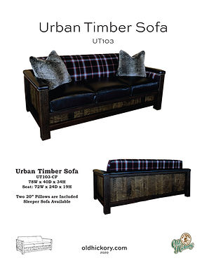 Urban Timber Sofa - UT103