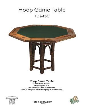 Hoop Game Table - TB943G