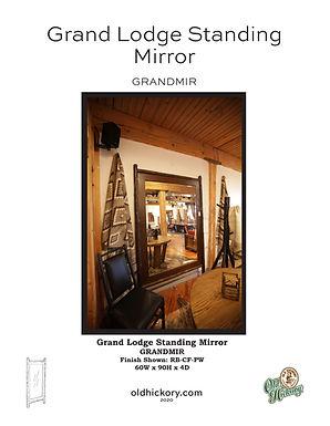 Grand Lodge Standing Mirror - GRANDMIR