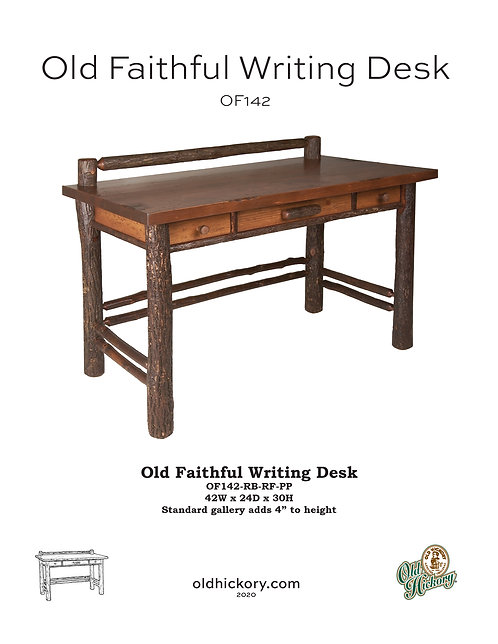 Old Faithful Writing Desk - OF142