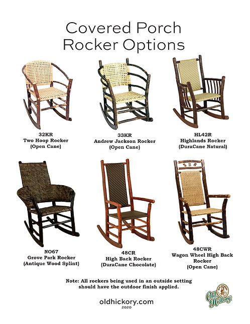 Covered Porch Rocker Options