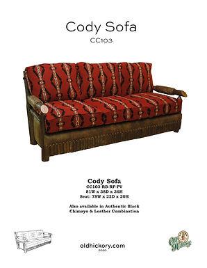 Cody Sofa - CC103
