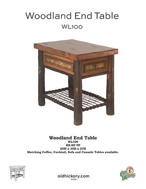 Woodland End Table - WL100