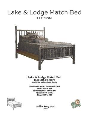 Lake & Lodge Bed - LLC313M