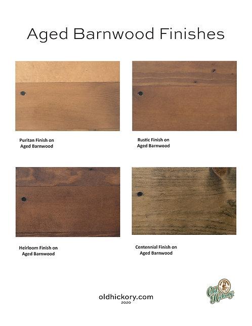 Aged Barnwood Finishes
