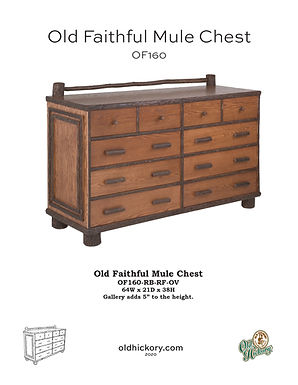 Old Faithful Mule Chest - OF160