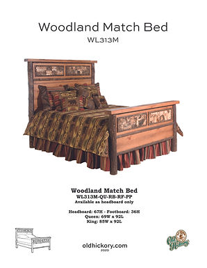 Woodland Bed - WL313M