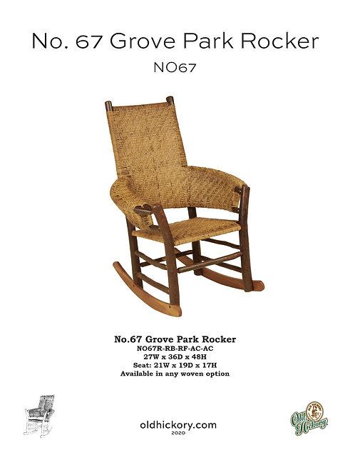 No. 67 Grove Park Rocker - NO67