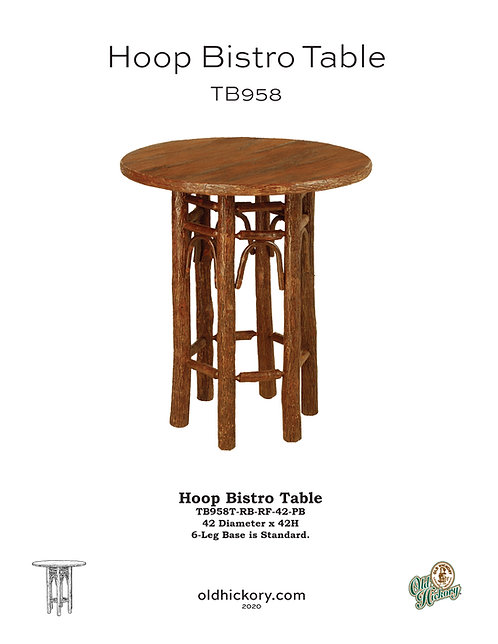 Hoop Bistro Table - TB958