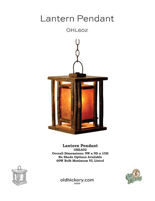 Lantern Pendant - OHL602