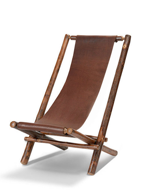 Lolo Chair with Saddle Leather Sling