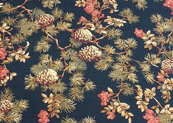 Vintage Pines Black