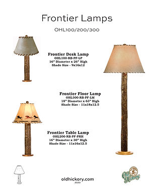 Frontier Lamps - OHL100/OHL200/OHL300