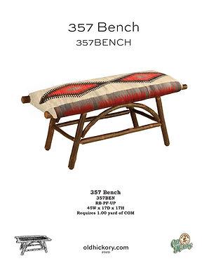 357 Bench - 357BEN