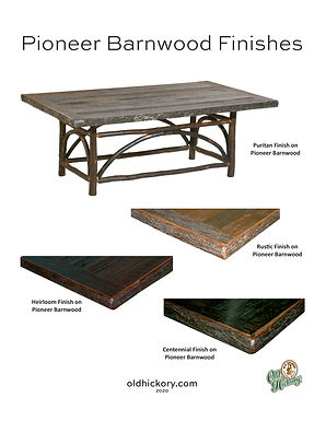 Pioneer Barnwood Finishes