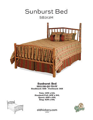 Sunburst Bed - SB313M