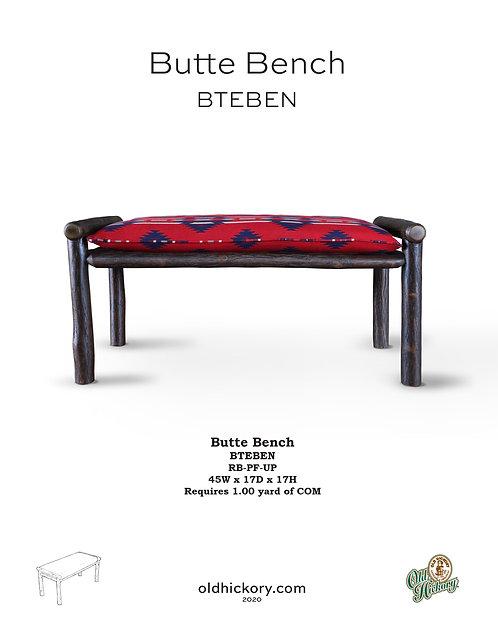 Butte Bench - BTEBEN