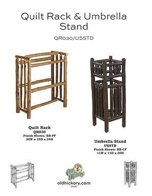 Quilt Rack & Umbrella Stand - QR030/USSTD