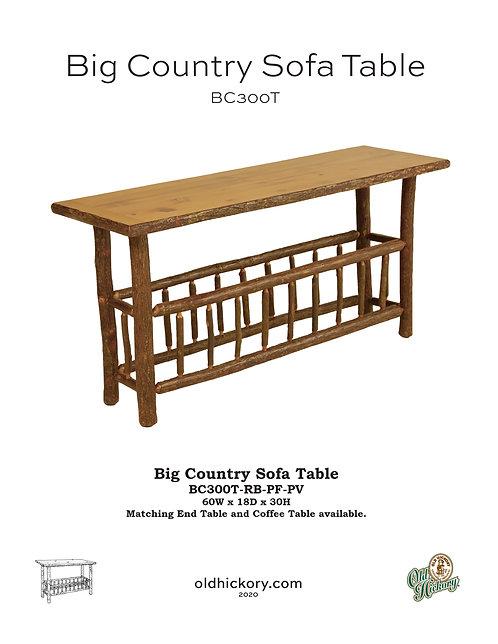 Big Country Sofa Table - BC300T