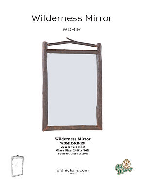 Wilderness Mirror - WDMIR