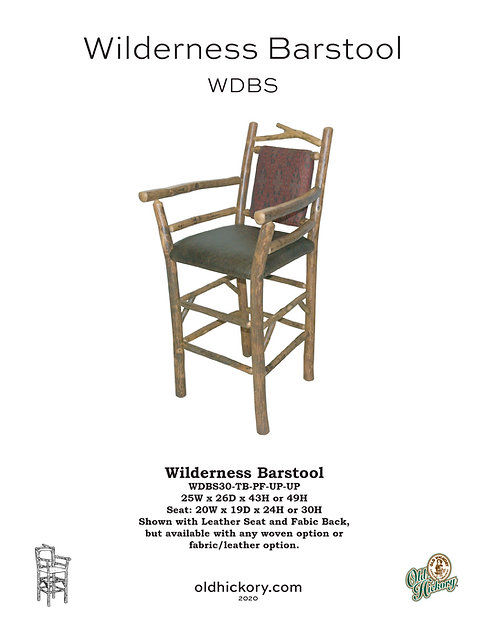 Wilderness Barstool - WDBS