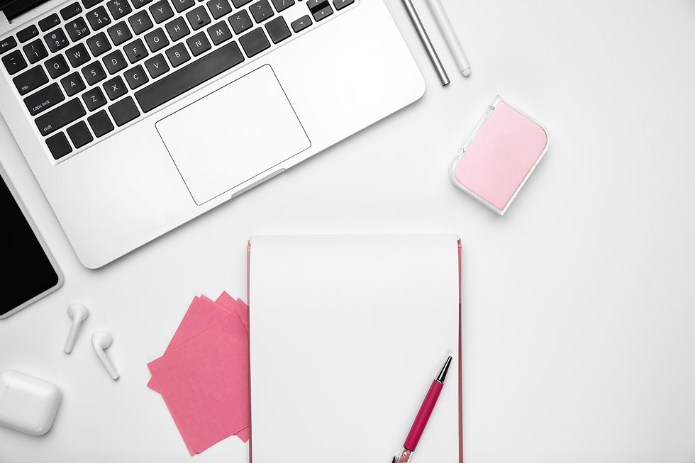 sheets-and-devices-flat-lay-mock-up-feminine-home-office-workspace-copyspace-inspiring-wor