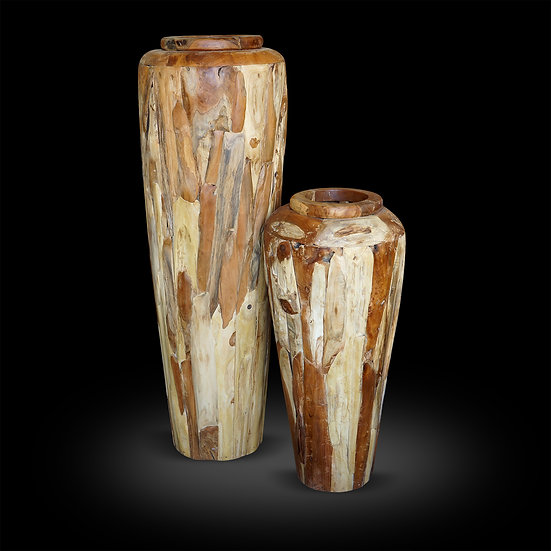 Floor decor vases 7',6',5'