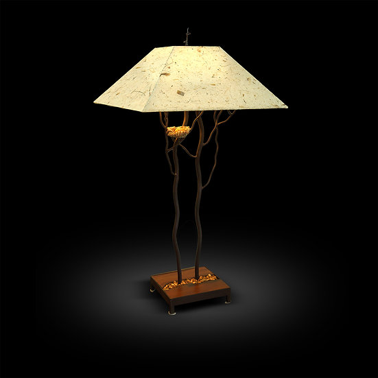 """Tree"" Lamp with Nest"