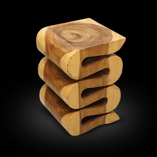 """Monkey Wood 14""""x14""""x20"""""""