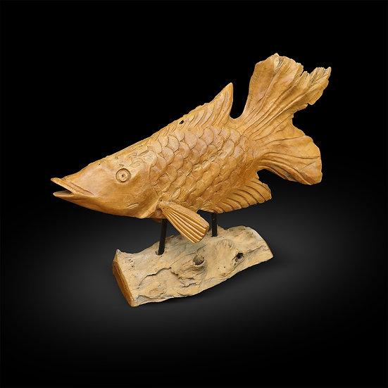 Teakwood Fish