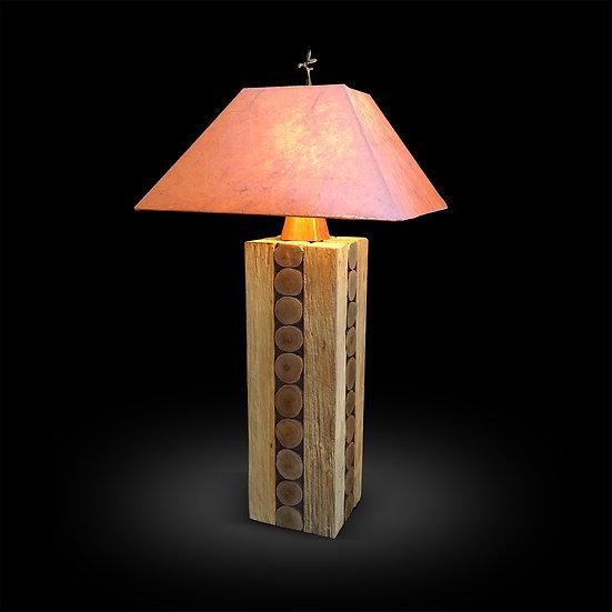 Monkey Pod Wood Lamp