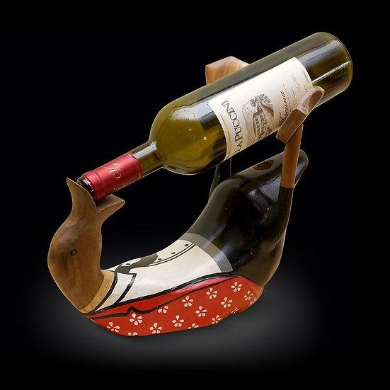 bottle holder table decor