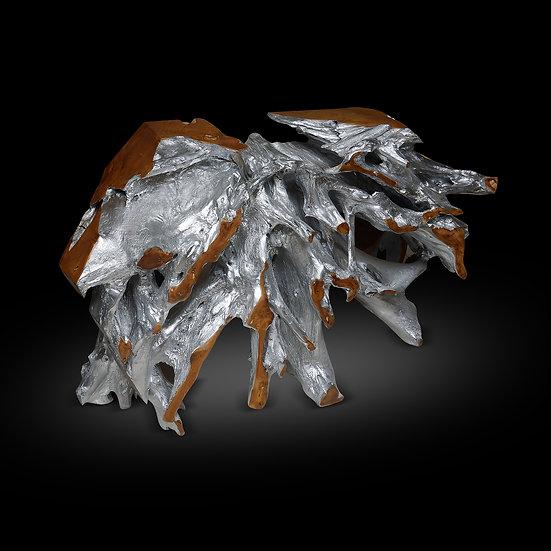 """'Silver' Teak Root 48""""x 13'x 31"""""""