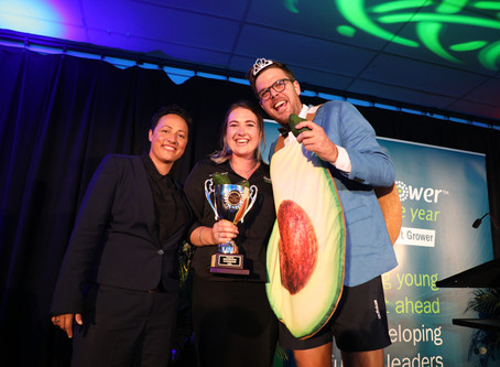 """""""I can't imagine myself anywhere but Horticulture"""", Bay of Plenty Young Grower of the Year 2020"""