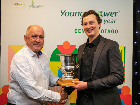 Jordan Carrol wins Central Otago Young Grower of the Year competition