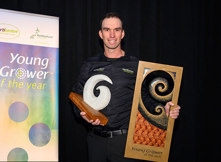Nelson's Jono Sutton wins 2019 Young Grower of the Year