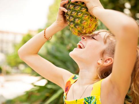 Anaïs et l'ananas