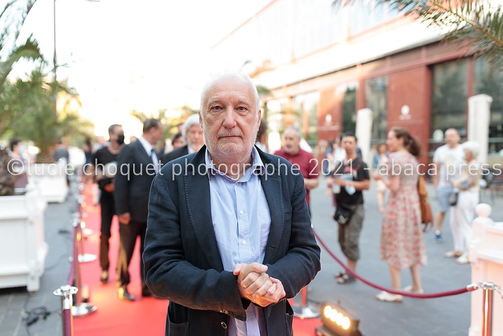 François Berléand sur le tapis rouge de l'avant-première du film L'origine du monde