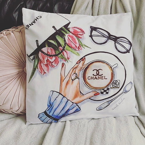 Fashion cushion covers (watercolour)
