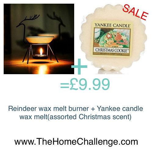 £9.99 Xmas wax melt burner bundle