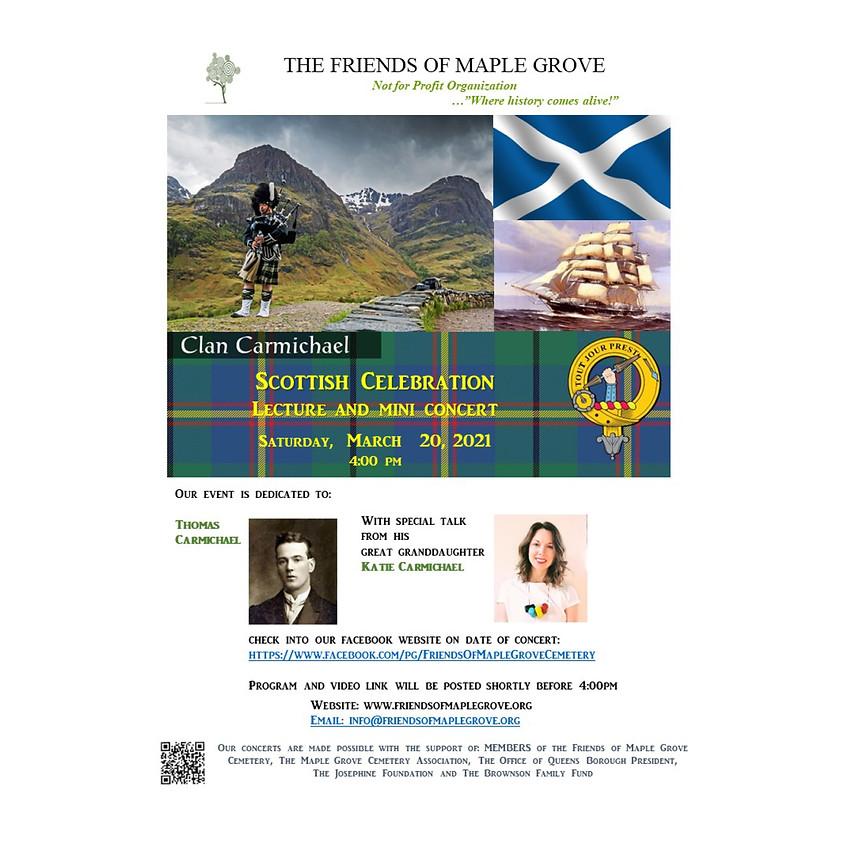 Scottish Celebration Lecture & Mini Concert