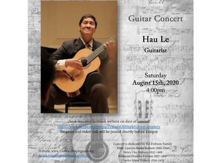 Hau Le Virtual Guitar Concert